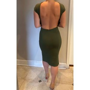 Jovani Green Dress 98939